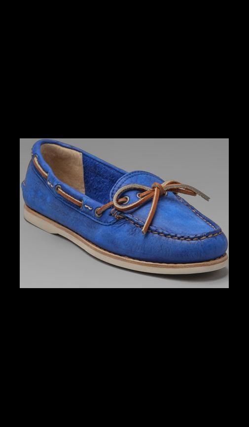 Quincy Tie Boat Shoe