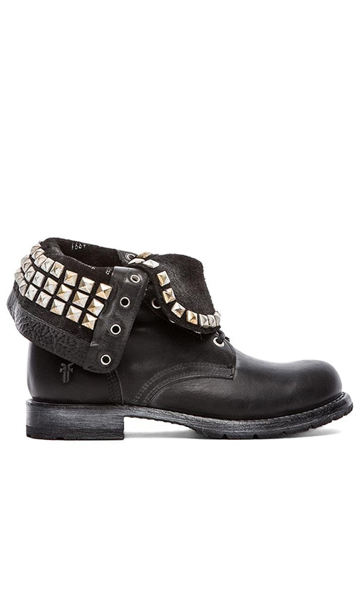 Rogan Studded Lace Boot