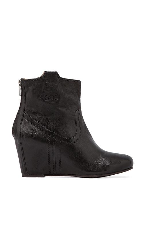 71f98ef191c Frye Carson Wedge Bootie in Black