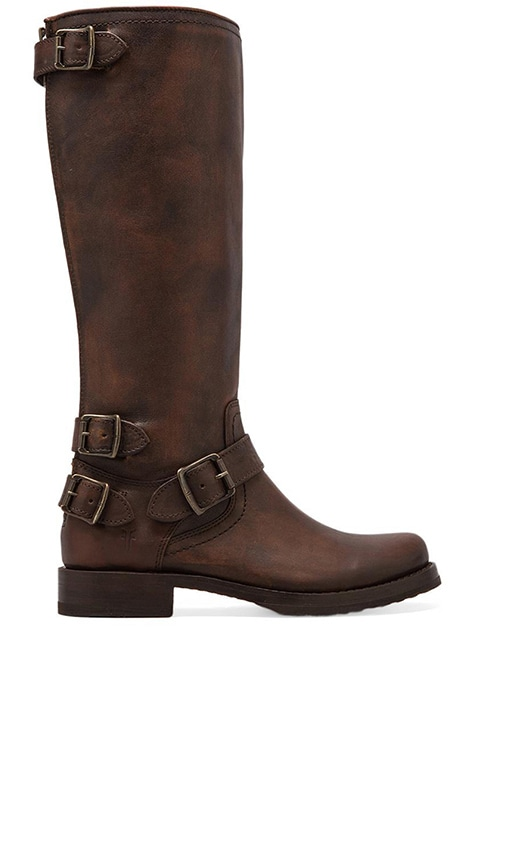 Veronica Moto Back Zip Boot