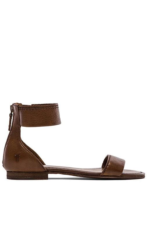 Carson Ankle Zip Sandal