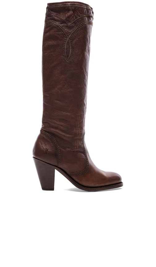 Mustang Stitch Tall Boot