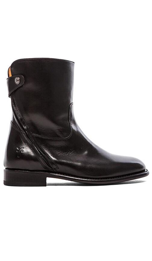 Abigail Zip Short Boot