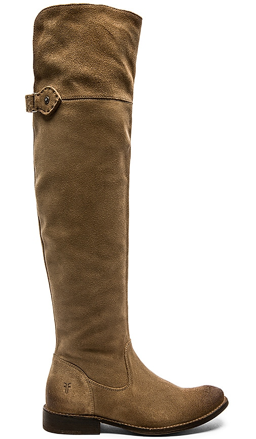 Frye Shirley Over the Knee Boot in Ash