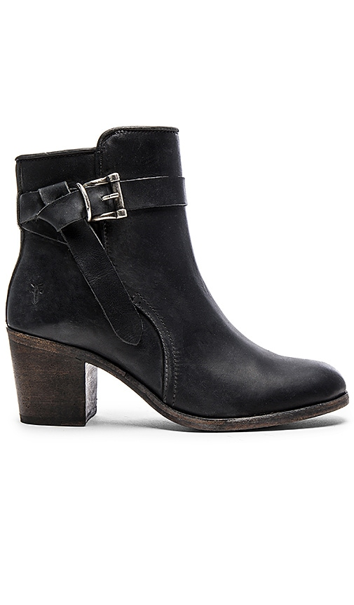 Frye Malorie Knotted Short Boot in Black