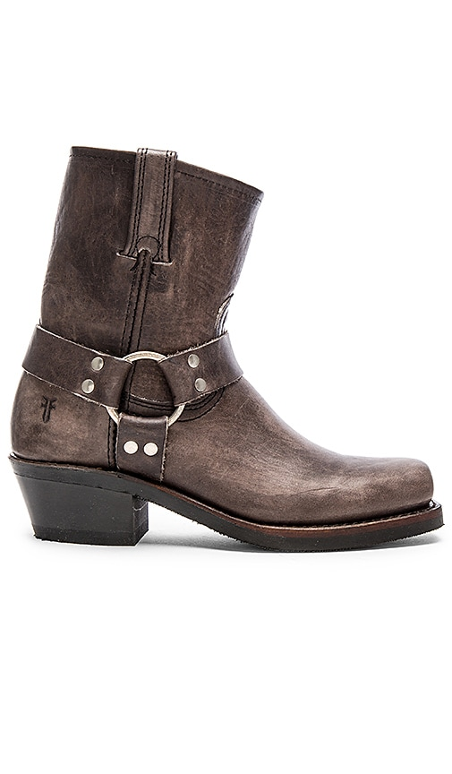 Frye Harness Boot in Gray