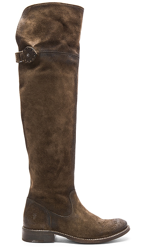 Frye Shirly OTK Boot in Brown