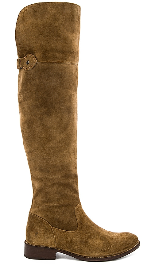 Frye Shirley OTK Boot in Tan