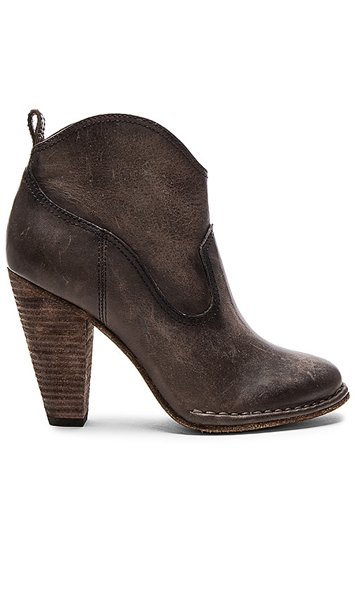 Frye Madeline Short Boot in Charcoal