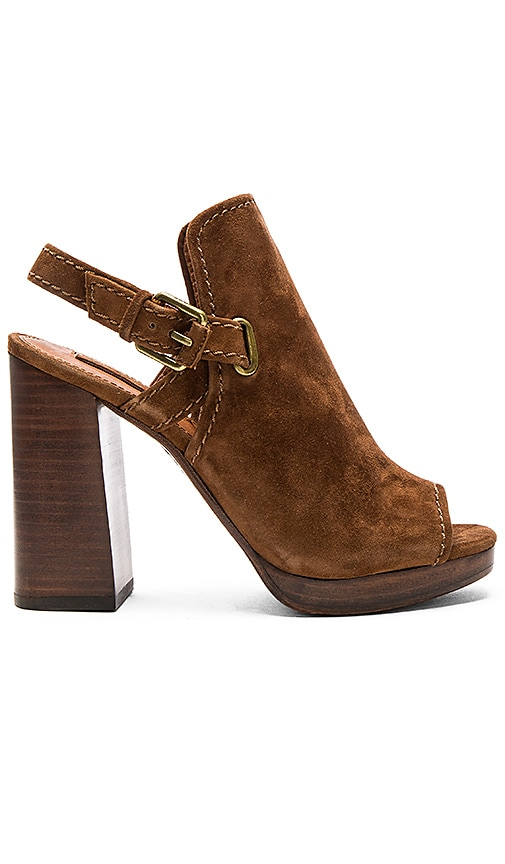 Frye Karissa Shield Sling Sandal in Brown
