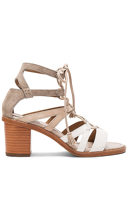 Frye Brielle Gladiator Heel in White