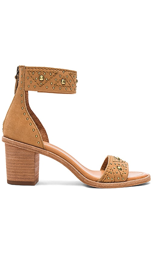 Frye Brielle Deco Sandal in Tan