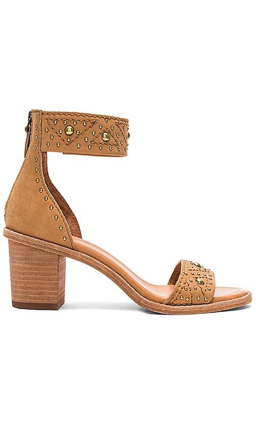 Frye Brielle Deco Sandal in Tan