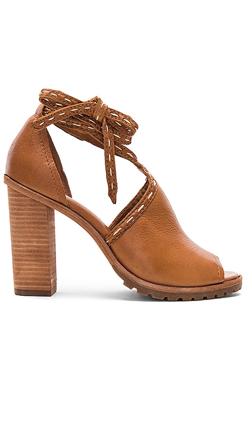 Frye Suzie Pickstitch Heel in Brown