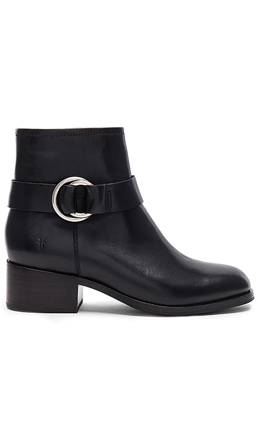 Frye Kristen Harness Bootie in Black