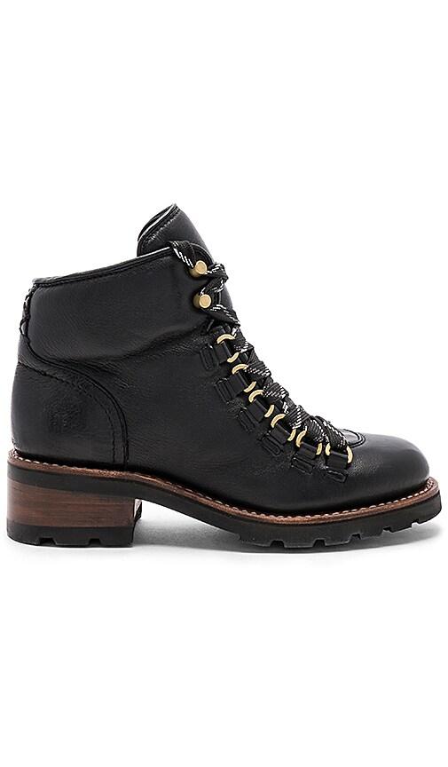 Frye Alta Hiker Boot in Black