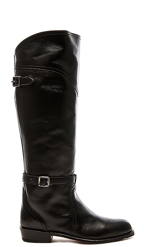 Frye Dorado Classic Riding Boot in Black