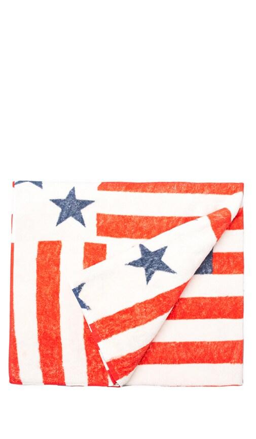 Vintage Americana Beach Towel