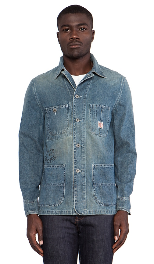 SSDD Heart on Fire Denim Coverall