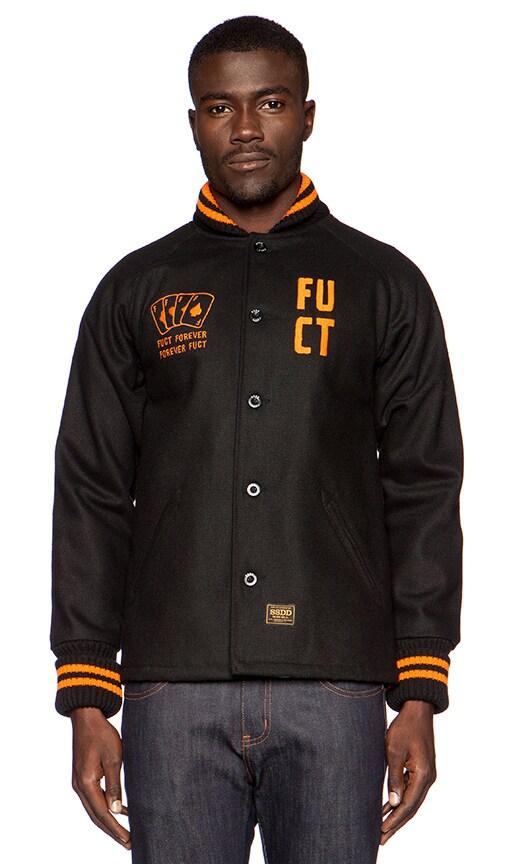 университетская куртка с полосатой окантовкой Tommy Hilfiger