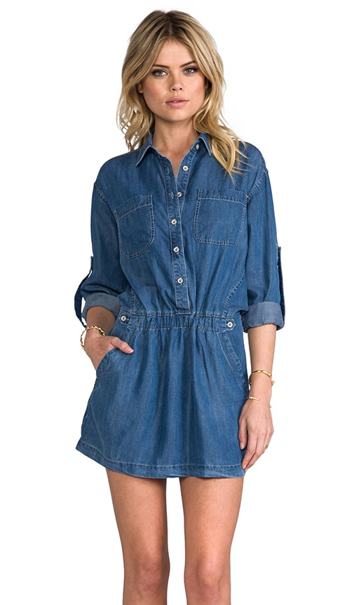 Blue Hour Shirt Dress