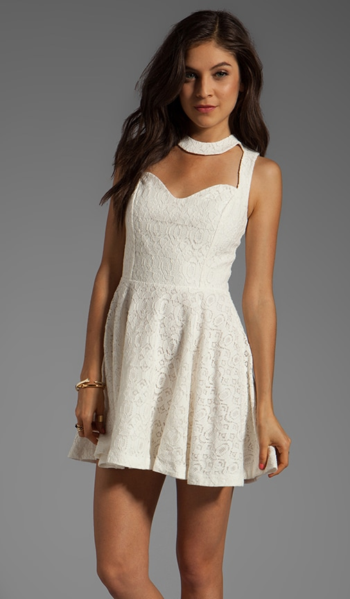 Sleeveless Frame Dress