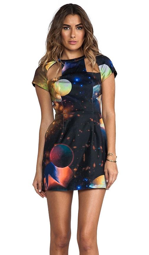 Cosmic Cutout Dress