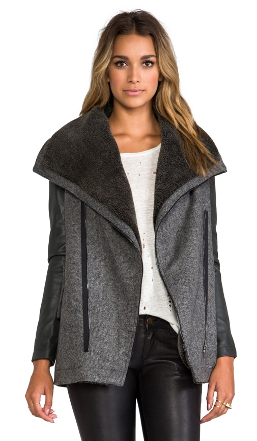 Atomic Faux Shearling Jacket