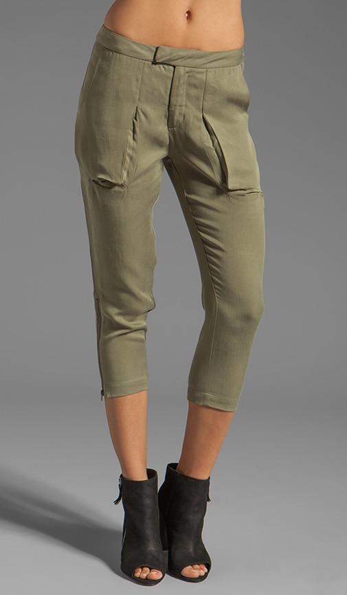 Slit Pocket Pants