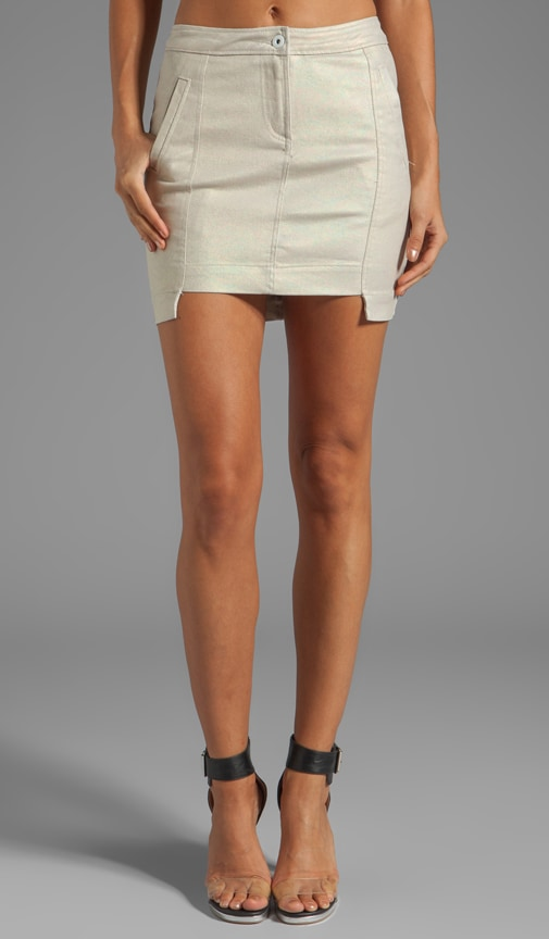 Molecular Twill Mini Skirt