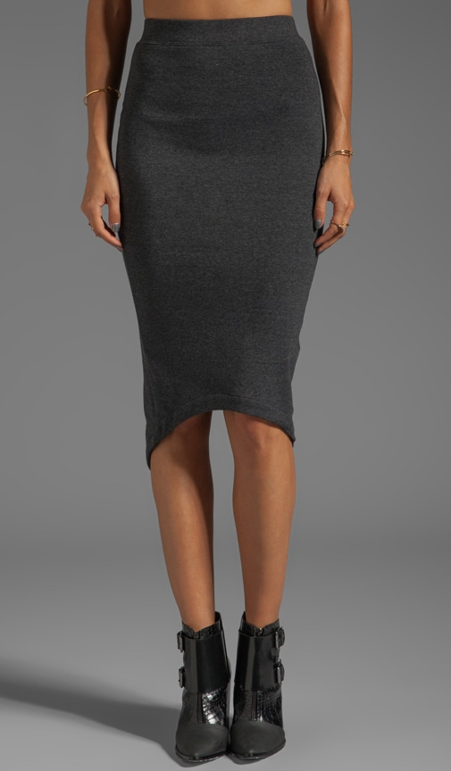 Storm Crossed Pencil Skirt