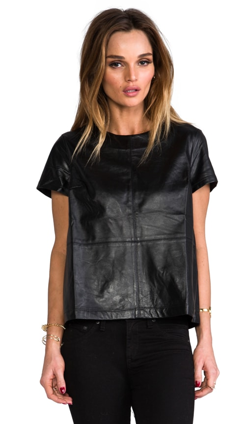 Atomic Leather Panel Top