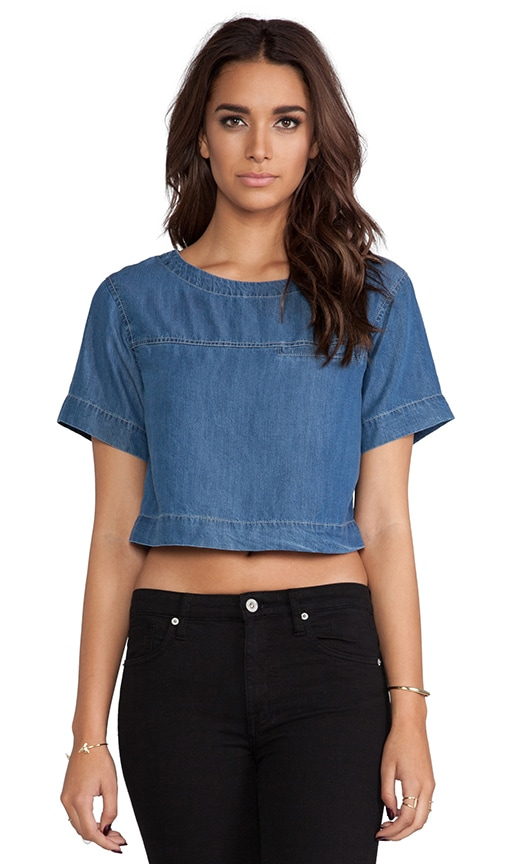 Blue Hour Cropped Top