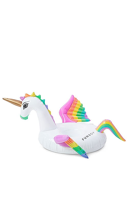 FUNBOY THE RAINBOW UNICORN INFLATABLE POOL FLOAT