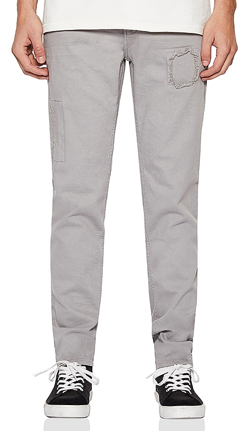 Five Four FVFR Palmer Slim Fit Jean in Grey