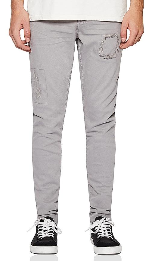 Five Four FVFR Palmer Skinny Fit Jean in Grey
