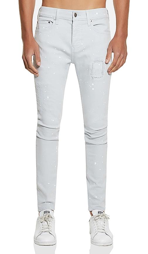 Five Four FVFR Yzer Skinny Fit Jean in Light Blue