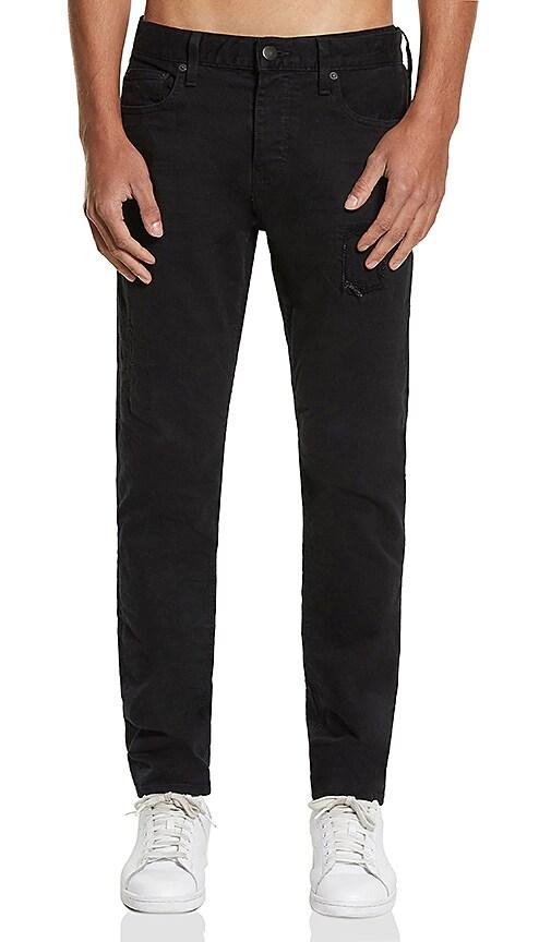 Five Four FVFR Mori Slim Jean in Black