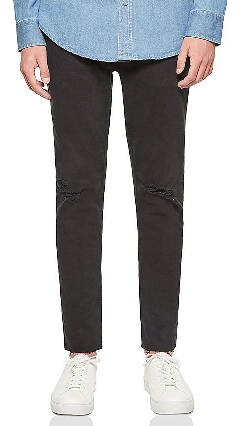 Five Four Frazier Skinny Fit Jean in Black