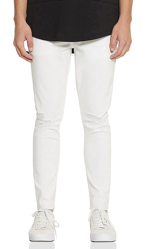 Five Four Frazier Skinny Fit Jean in White