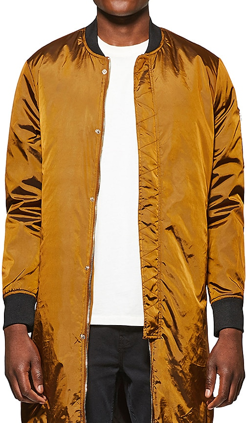 Five Four Vries Jacket in Metallic Bronze