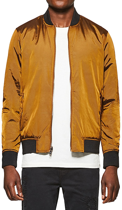 Five Four Luciano Reversible Jacket in Metallic Bronze