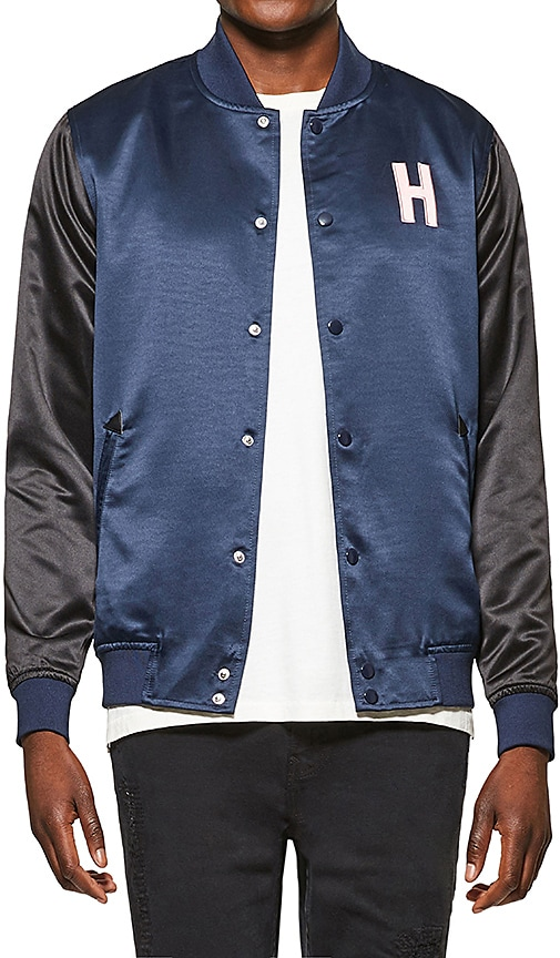 Five Four Hotel 1171 Garcon Jacket in Navy