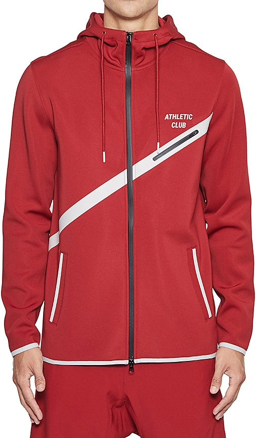 Grand AC Cronkite Jacket in Red