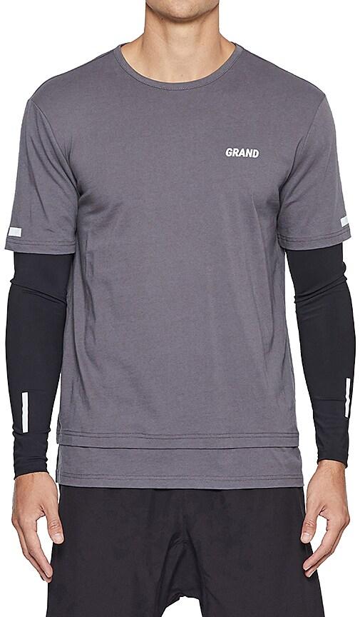 Grand AC Amalfi Long Sleeve Tee in Gray