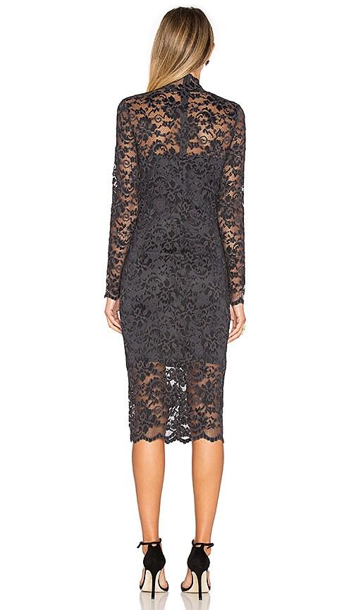 7dbf808a Ganni Flynn Lace Dress in Ebony & Black 60%OFF - argineconsulting.com