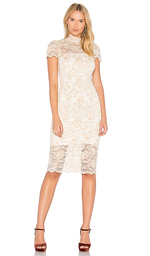 Ganni Flynn Dress in White
