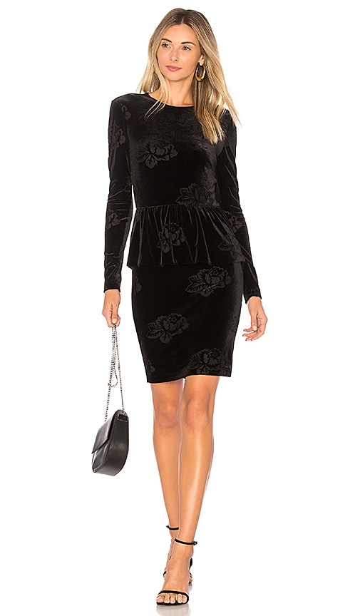 Ganni Bloomsbury Dress in Black