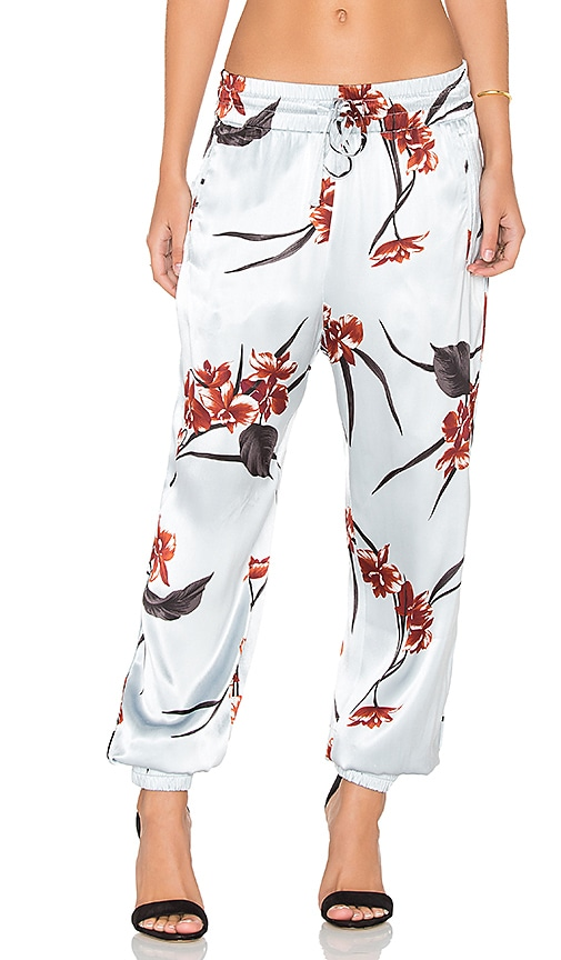 Ganni Jogger Pant in Red Orchid