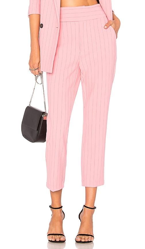 Ganni Brighton Pant in Pink